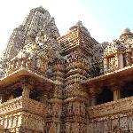 Ornately carved temple