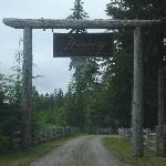 The entrance to Huckleberry Lodge