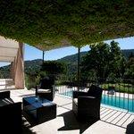 Petite terrasse & piscine