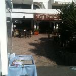 front of premises