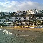Dejlig strand, men Amadores var bedre - man kan gå til Amadores fra Puerto Rico