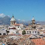 Vista di Palermo dal Panormus