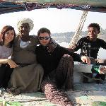 Sailing the Nile on felucca