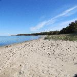 Fishermans State Park just south of Charlevoix