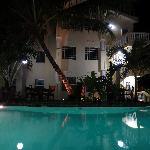 Pelican Reef Villas at Night