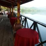River-side restaurant.