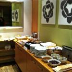 Breakfast buffet at CenterHotel Klopp