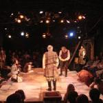 Performance in the intimate Circle Theatre in the Golden Bough Playhouse