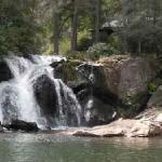 Norton Falls at the Lake