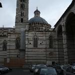 Lateral del Duomo de SIENA