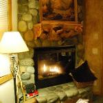 Enchantments fireplace