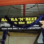 Famous Beef and Barra Ad
