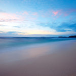 Yasawa's Main Beach at Sunrise