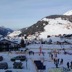 Ski school meeting point few meters from the ski room