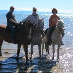 El Galpon Horseback Ride on shore of Lago Argentina