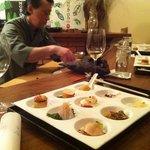 sashimi with the chef