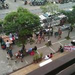 utsikt från balkong rum 307