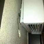 interrupteur du chauffage de salla de bain