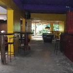 The main bar/lounge area