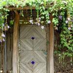 One of the garden gates