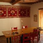 Dining room of Casa del Corazon