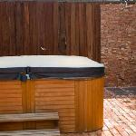 Spa and Outdoor Shower