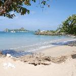 Reduit beach looking towards Rodney Point