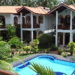Wonderful garden with pool
