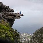 A view from Table Mountain down to Camps Bay