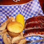 1 Meat RIBS lunch at Famous Dave's