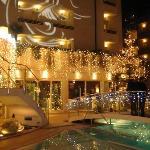 hotel addobbato