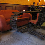 The chairs in the bar-part of The Basement