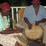 mario and ray drumming garifuna style