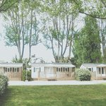 Mobile homes sur camping