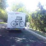 air de service pour camping cars