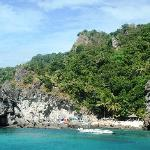 Apo Island .. view from the boat