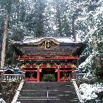 Porte d'entrée du sanctuaire Taiyuin-byo