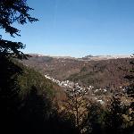 La ville du Mont Dore