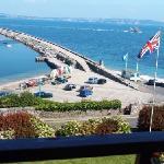 Balcony view from Devoncourt