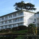 Devoncourt side view - it overlooks the marina and Torbay