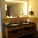 Partial view of Bathroom