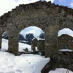 Ruins Along Walk