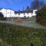 simonsbath hotel from the road