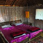 Our hut room