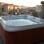 Jacuzzi in the terrace