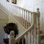 The staircase leading you up to your rooms
