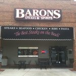 The front of Barons