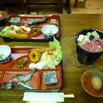 ヒュッテ霧ケ峰の食事
