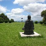 One view of the Beautiful Grounds- Buddha