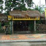 Entrance of Breakfast Bar